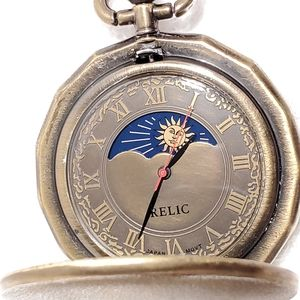 Vintage Relic by Fossil Pocket Quartz Watch